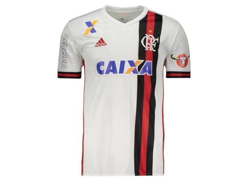 4ae781dbd54 Camisa Flamengo II 2017 18 Torcedor Masculino Adidas