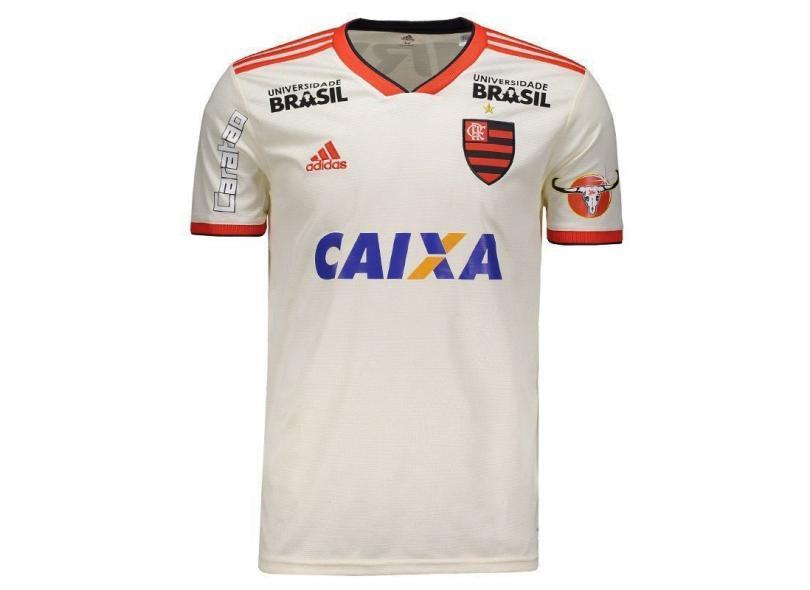 9c72bce1db4 Camisa Flamengo II 2018 19 Torcedor Masculino Adidas