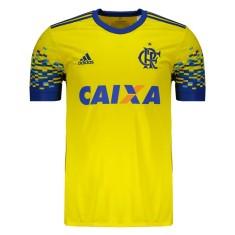 Camisas de Times de Futebol Flamengo III - Terceiro Uniforme ... a90dcce2fc230