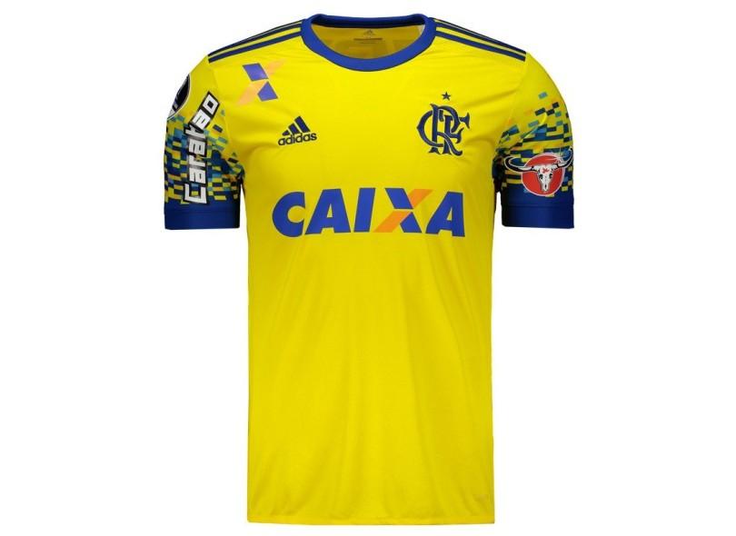 Camisa Flamengo III 2017 18 Torcedor Masculino Adidas a3507419177c4