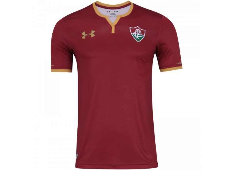Camisa Fluminense III 2017 18 Sem Número Torcedor Masculino Under Armour 51f6d6cb71a74