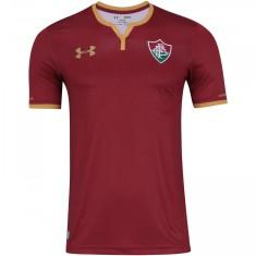 Camisa Torcedor Fluminense III 2017 18 Sem Número Under Armour bdb5e2e5e2fc3