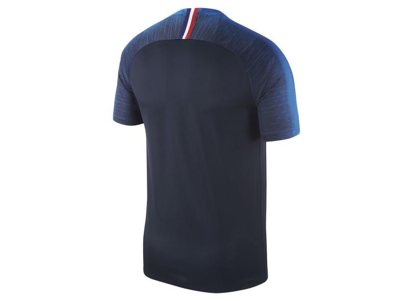 Camisa França I 2018 19 sem Número Torcedor Masculino Nike bd1ef0cc24534