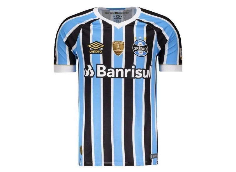 3060663cc8 Camisa Grêmio I 2018 19 Torcedor Masculino Umbro