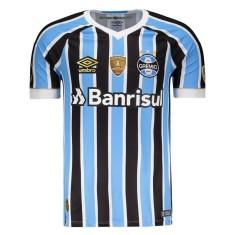 50f19e303f7a5 Camisa Torcedor Grêmio I 2018 19 Umbro