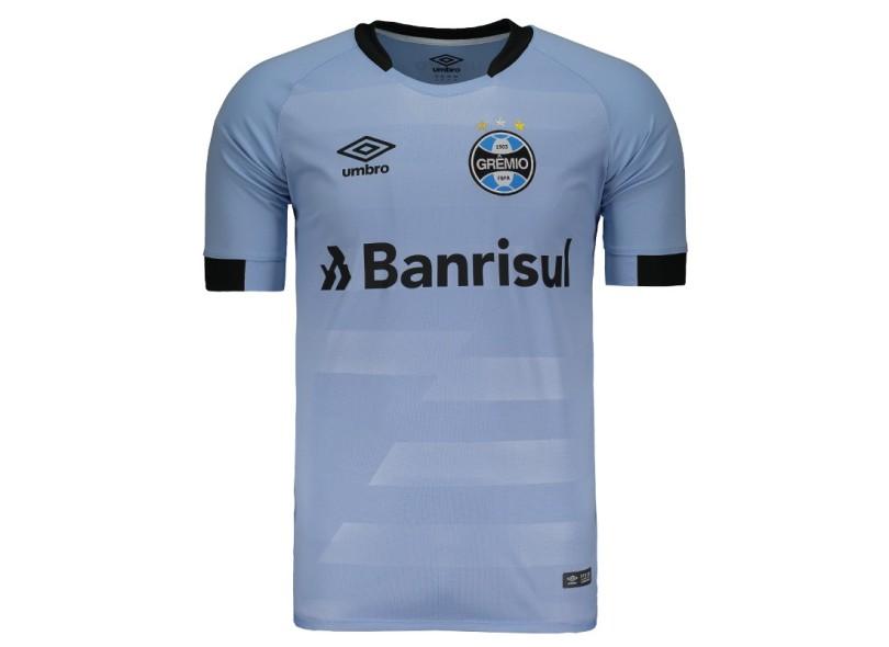 3129eae9437d1 Camisa Grêmio II 2017 18 Sem Número Torcedor Masculino Umbro