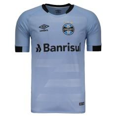 7d97cdf4d3 Camisa Torcedor Grêmio II 2017 18 Sem Número Umbro