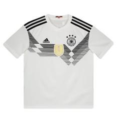 Camisa Torcedor Infantil Alemanha I 2018 19 Adidas c43102679ed66