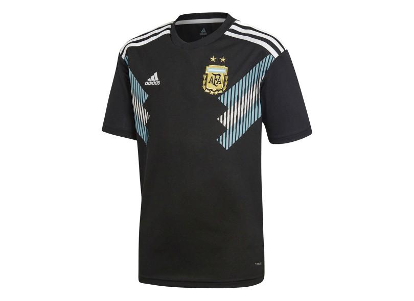 eea246ac8 Camisa Infantil Argentina II 2018 19 Sem Número Torcedor Infantil Adidas