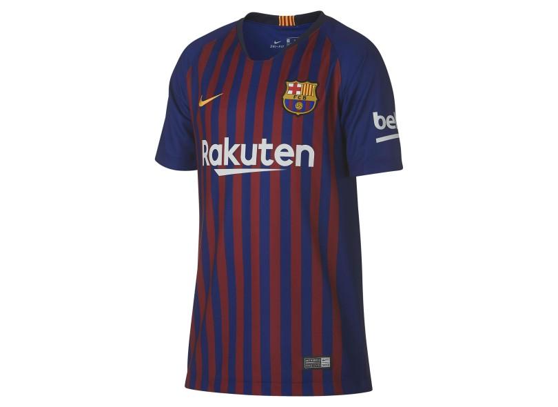 Camisa Infantil Barcelona I 2018 19 Torcedor Infantil Nike db62471c1fcfe