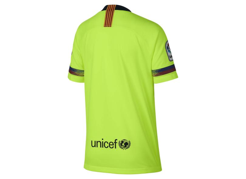 Camisa Infantil Barcelona II 2018 19 Torcedor Infantil Nike b25c645504b17
