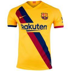 Camisa Torcedor infantil Barcelona II 2019/20 Nike