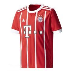 Camisa Torcedor Infantil Bayern de Munique I 2017 18 Sem Número Adidas d54367d470014