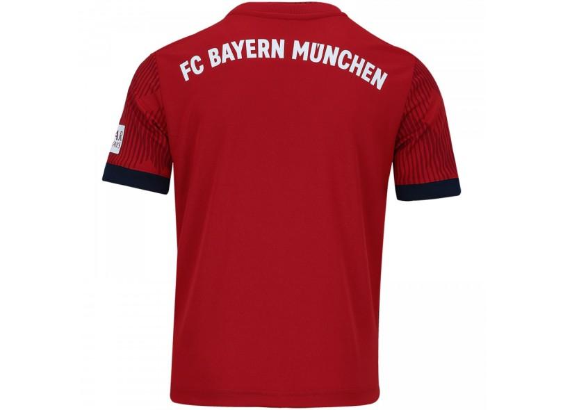 Camisa Infantil Bayern de Munique I 2018 19 Torcedor Infantil Adidas e5a059121e240