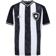 Camisa Torcedor Infantil Botafogo I 2019/20 Kappa