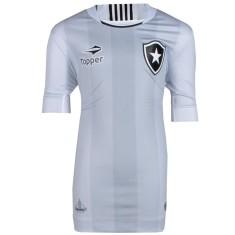 c01c55df48 Camisa Torcedor infantil Botafogo III 2016 sem Número Topper