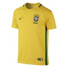 Camisa Torcedor infantil Brasil I 2016 sem Número Nike