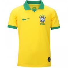 Camisa Torcedor infantil Brasil I 2019 Nike
