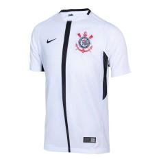 Camisa Torcedor Infantil Corinthians I 2017 18 Sem Número Nike d5a1ed5611fe4