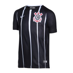 Camisa Torcedor Infantil Corinthians II 2017 18 Sem Número Nike e13a9bb094334