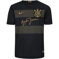 84e73ffd7 Camisa Torcedor Infantil Corinthians III 2018 19 Nike