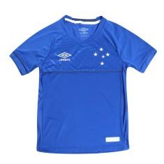 Camisa Torcedor Infantil Cruzeiro I 2018/19 Umbro