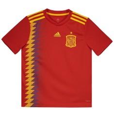 Camisa Torcedor Infantil Espanha I 2018 19 Adidas e461b0a5c2223