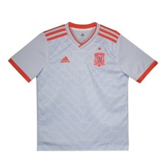 c64be69d69 Camisa Torcedor Infantil Espanha II 2018 19 Adidas