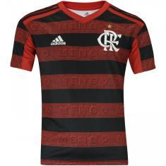 Camisa Torcedor Infantil Flamengo I 2019 Adidas