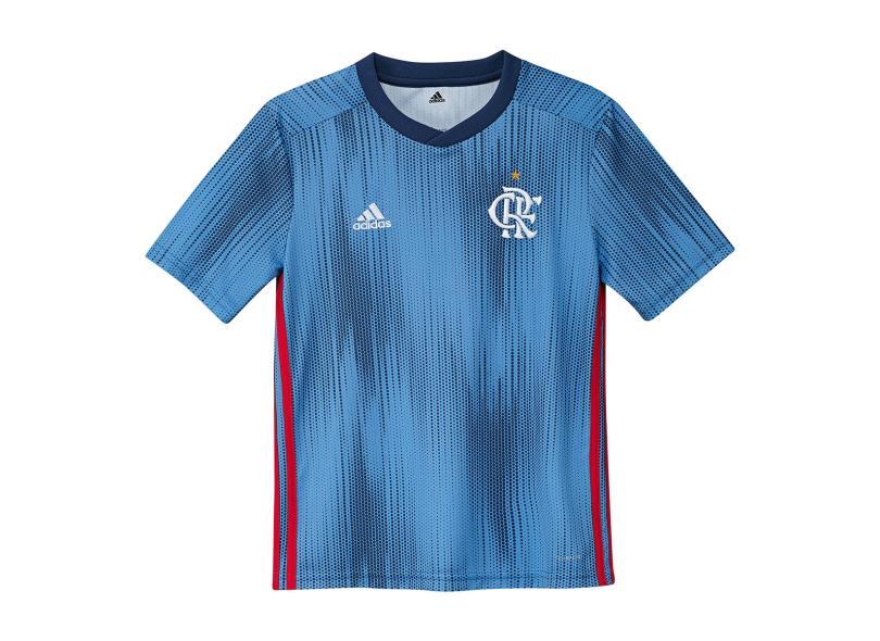 c0739331ec Camisa Infantil Flamengo III 2018 19 Torcedor Infantil Adidas
