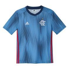 Camisa Torcedor Infantil Flamengo III 2018/19 Adidas