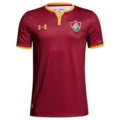 Camisa Torcedor Infantil Fluminense III 2017 18 Sem Número Under Armour 8b56be76c33d6