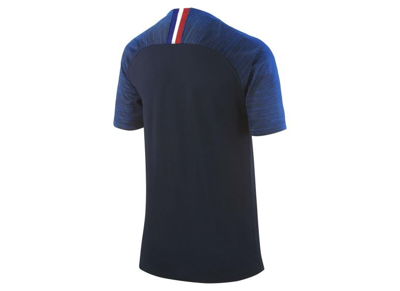 990ea3a146f72 Camisa infantil França I 2018 19 sem Número Torcedor Infantil Nike