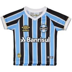 Camisa Torcedor Infantil Grêmio I 2018 19 Umbro 0fa46edc09b7e