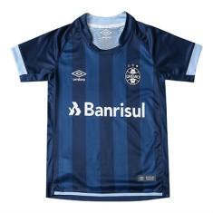 2e7b09c8d8 Camisa Torcedor Infantil Grêmio III 2017 18 Com Número Umbro