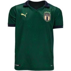 Camisa Torcedor Infantil Itália III 2019/20 Puma