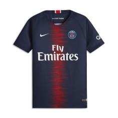 Camisa Torcedor Infantil PSG I 2018 19 sem Número Nike 059ff79d41c97