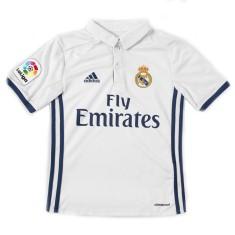 Camisa Torcedor infantil Real Madrid I 2016 17 sem Número Adidas a7f00a7a8274b