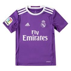 Camisa Torcedor infantil Real Madrid II 2016 17 sem Número Adidas de54c60c0c57e