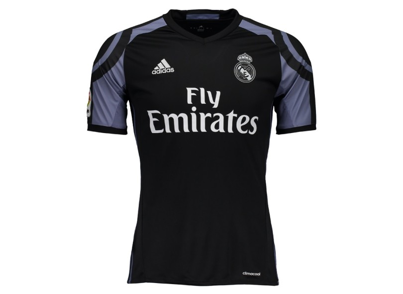 Camisa infantil Real Madrid III 2016 17 sem Número Torcedor Infantil Adidas 5f3ec928838e3