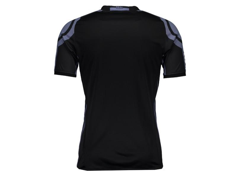 Camisa infantil Real Madrid III 2016 17 sem Número Torcedor Infantil Adidas 8ed6722ccc1fd