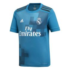 Camisa Torcedor infantil Real Madrid III 2017 18 Adidas 618db6ca32d61