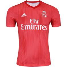 Camisa Torcedor infantil Real Madrid III 2018/19 Adidas