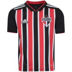 Camisa Torcedor infantil São Paulo II 2018 19 Adidas a12b143a4024c