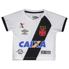 ef42c69ce3 Camisa Torcedor Infantil Vasco da Gama II 2017 18 Umbro