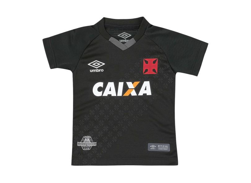 5f4c2997dda2f Camisa Infantil Vasco da Gama III 2017 18 Torcedor Infantil Umbro