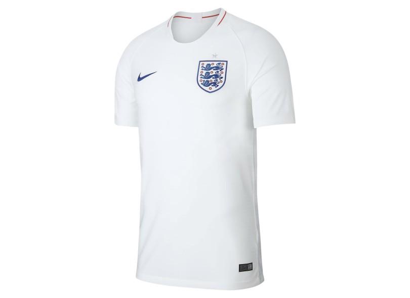 Camisa Inglaterra I 2018 19 Torcedor Masculino Nike 36bf4026e648a