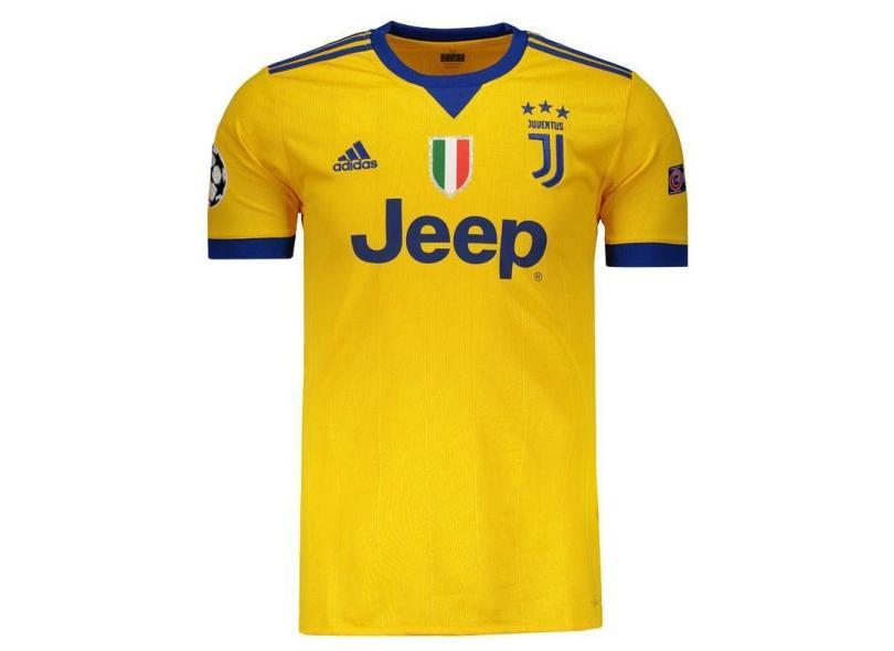 Camisa Juventus II 2017 18 Torcedor Masculino Adidas 105c533309bd8