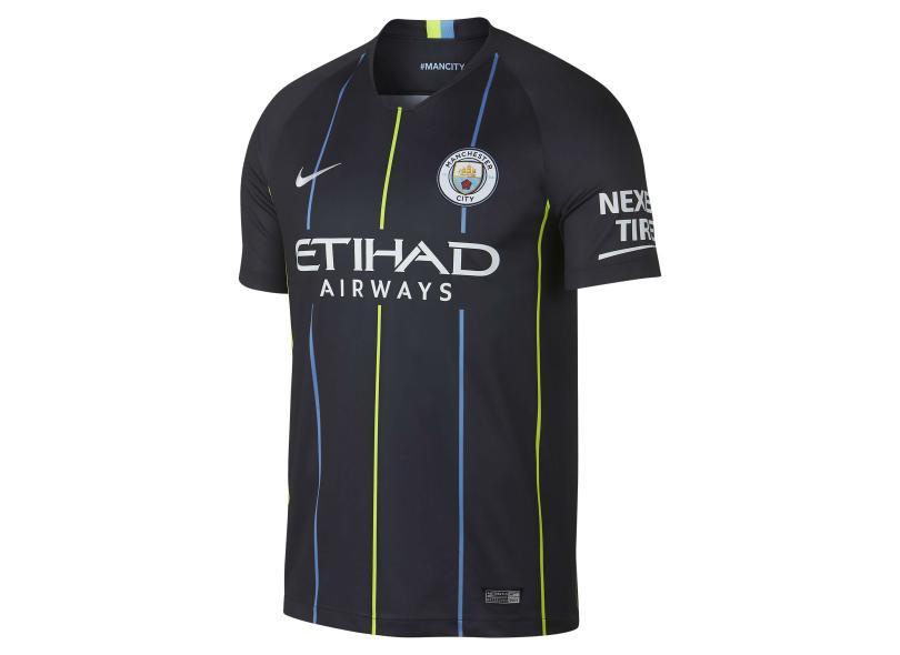 Camisa Manchester City II 2018 19 Torcedor Masculino Nike 60d269311ed75