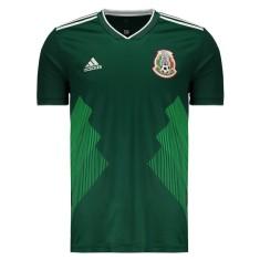 Camisa Torcedor México I 2018 19 Adidas adfc8fb3776fb